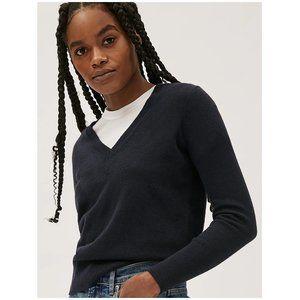 Everlane The Cashmere V-Neck Sweater